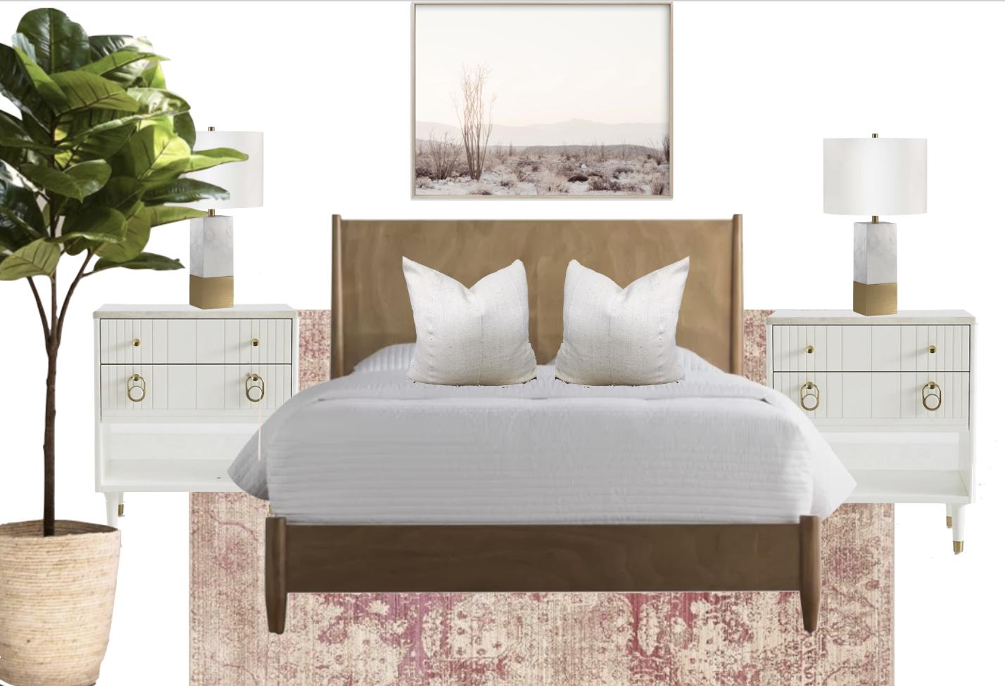 Feminine Chic Bedroom Design