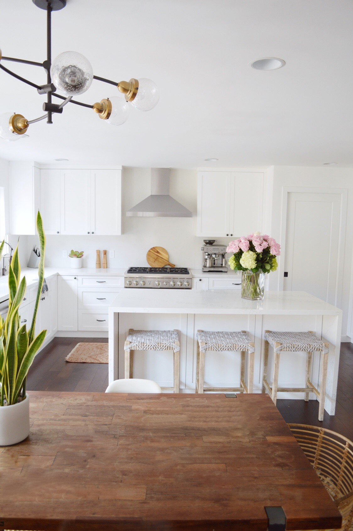 beachy kitchen