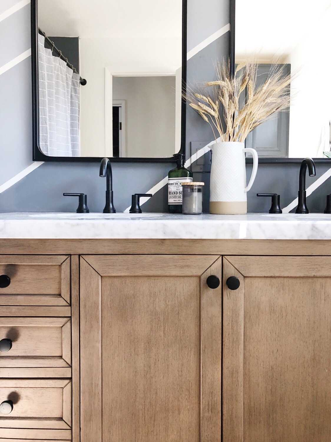master bathroom refresh