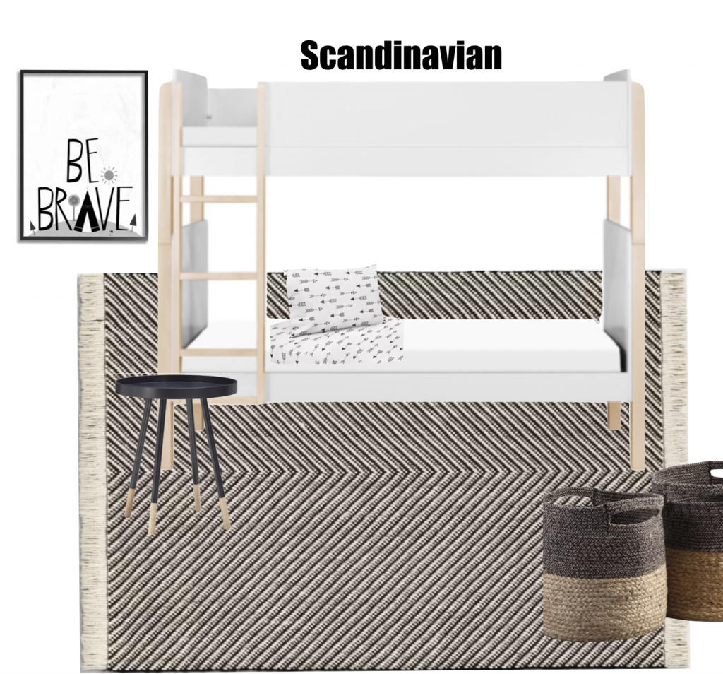 Scandinavian Inspired Boys Bedroom
