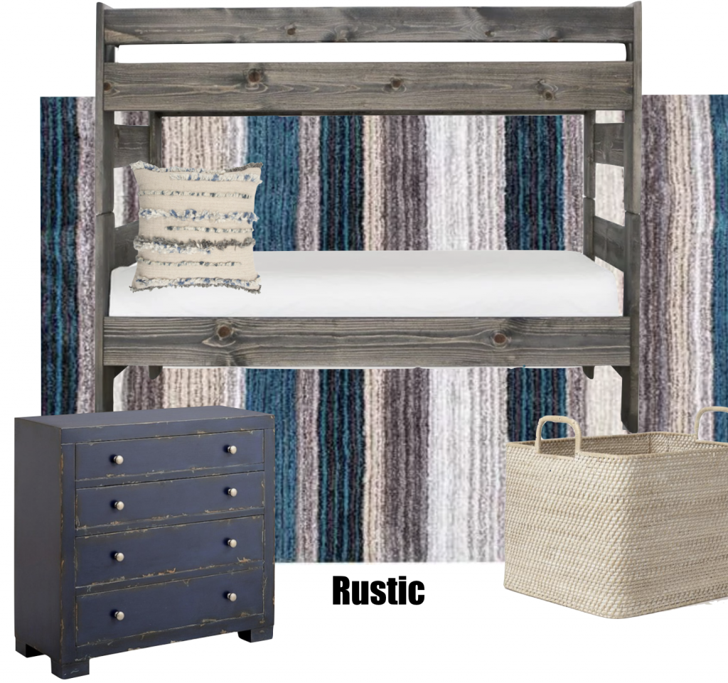 Rustic Inspired Boys Bedroom