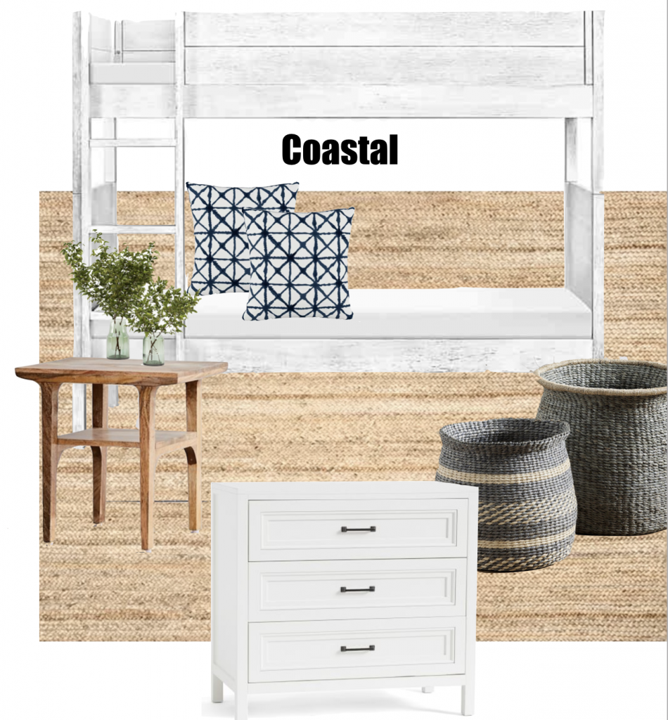 coastal inspired boys bedroom
