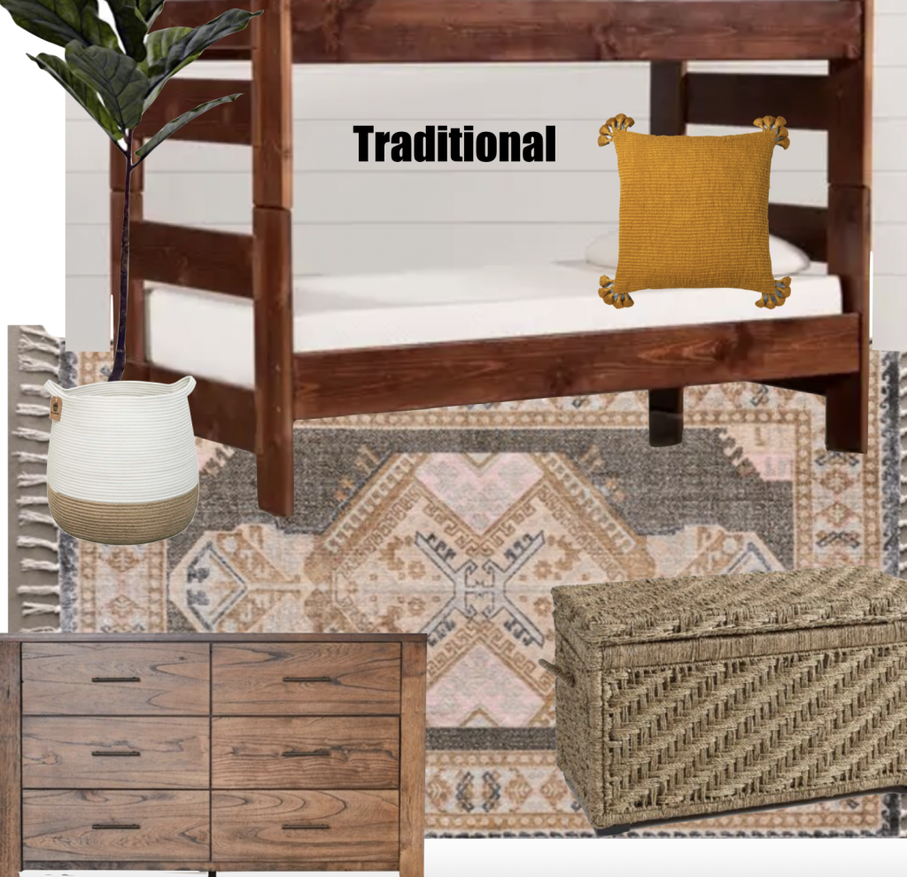 traditional inspired boys bedroom idea