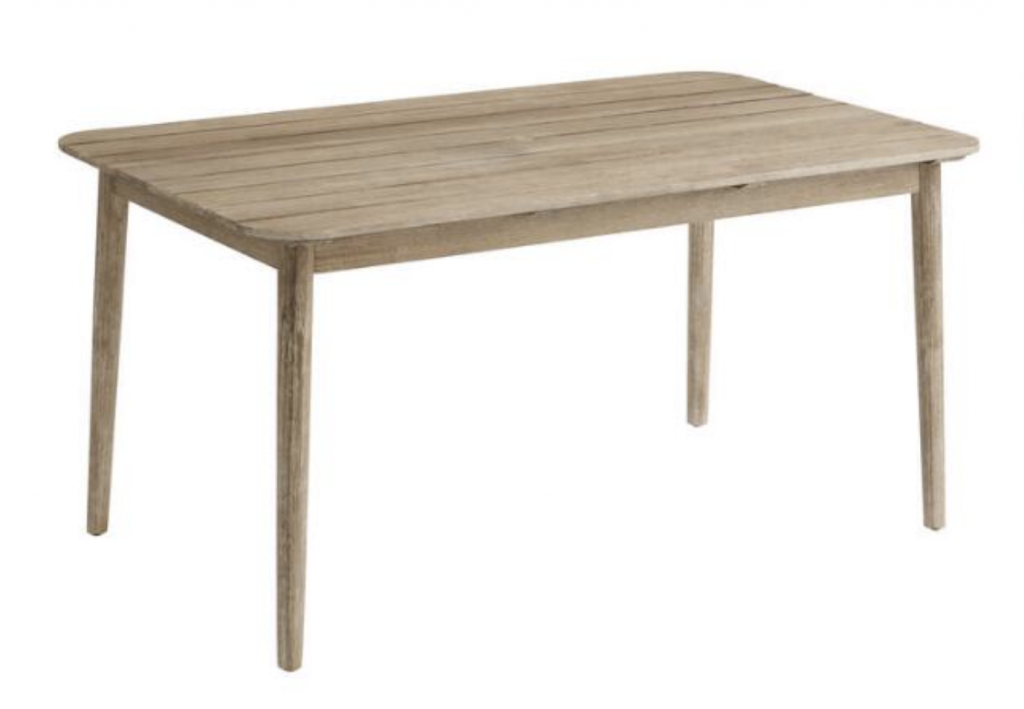 whitewash dining table