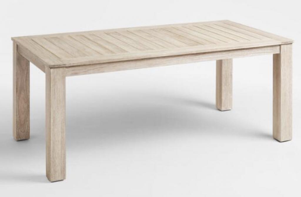 whitewash sevilla table