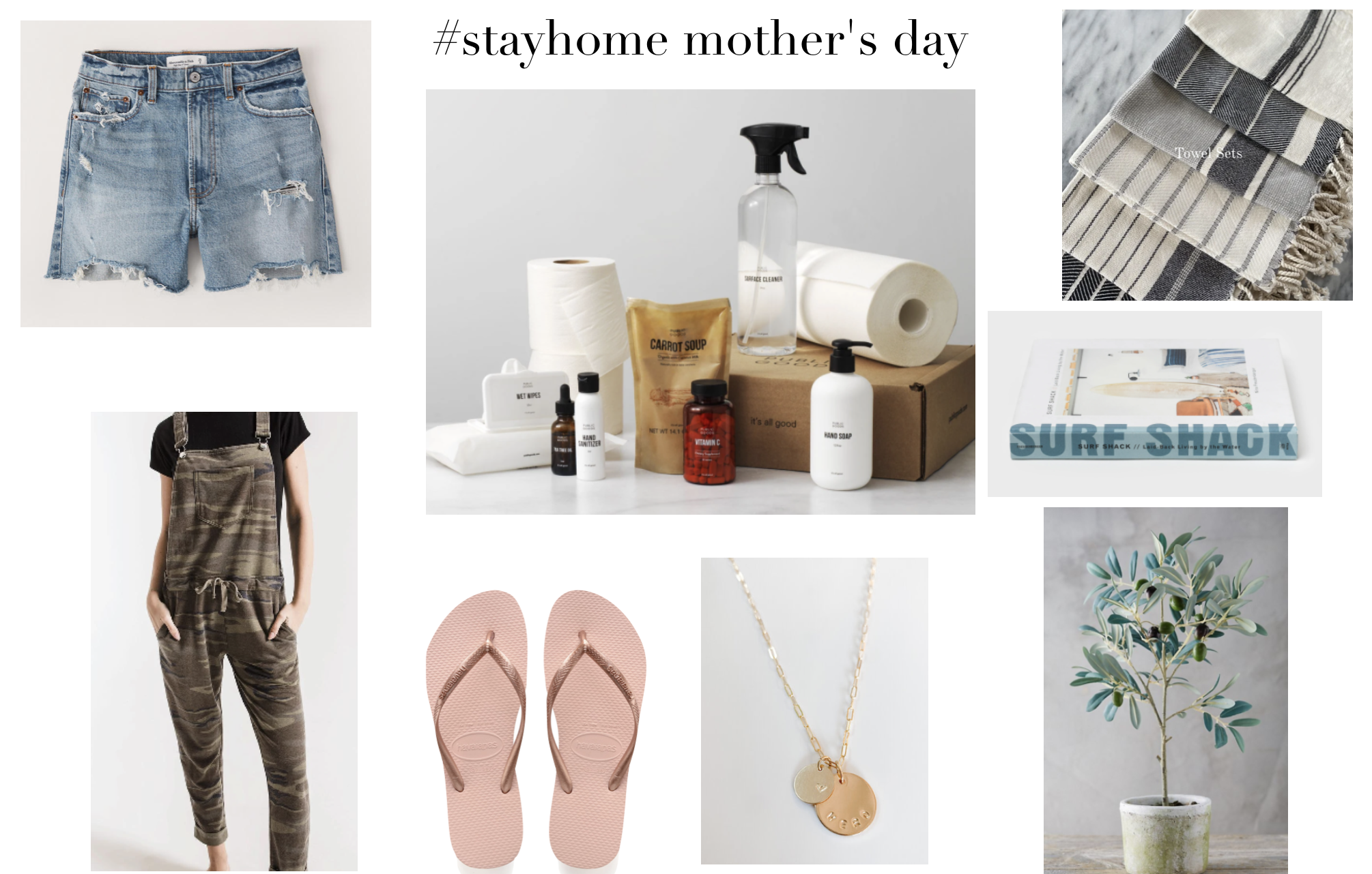 #stayhome mother's day giftguide