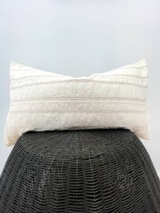 vintage neutral pillow cover