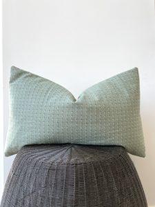 vintage lumbar pillow cover