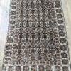 brown vintage rug