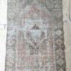 faded vintage rug runner