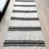 vintage killim striped rug